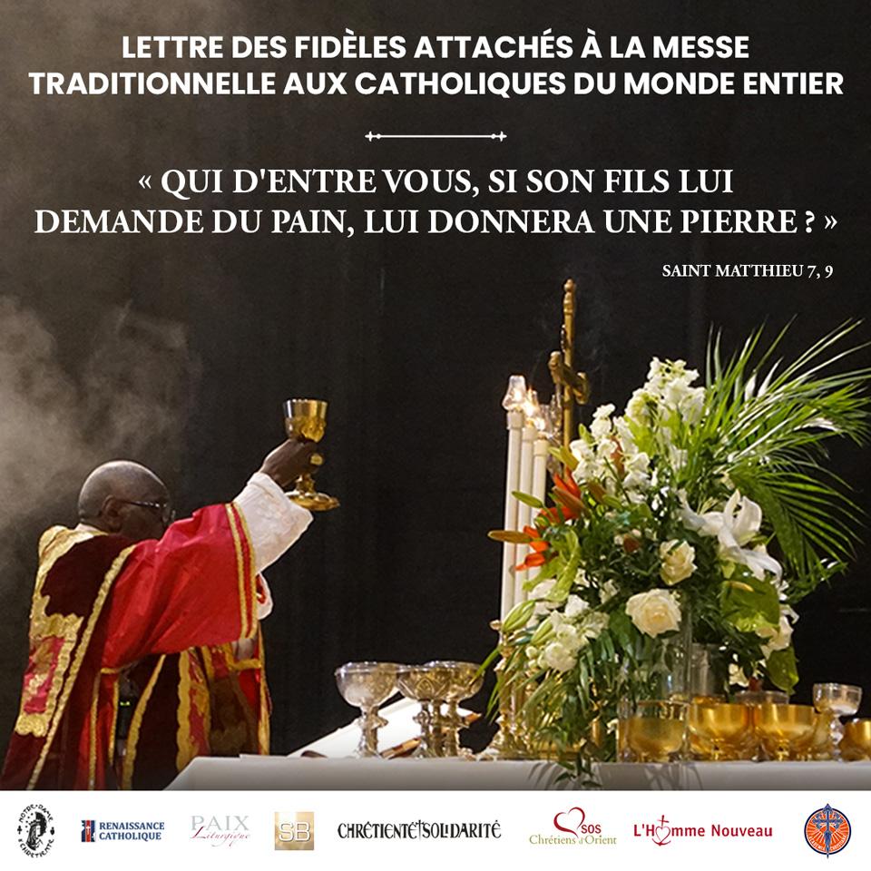 Liberté pour la Messe tridentine ! Lettre-aux-catholiques